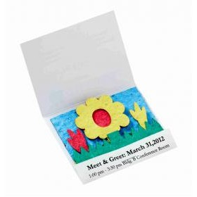 Wildflower Scene Seed Paper Matchbook